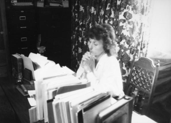 Harriet Clark, teacher of the Amity church school