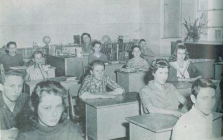 Upper grade classroom