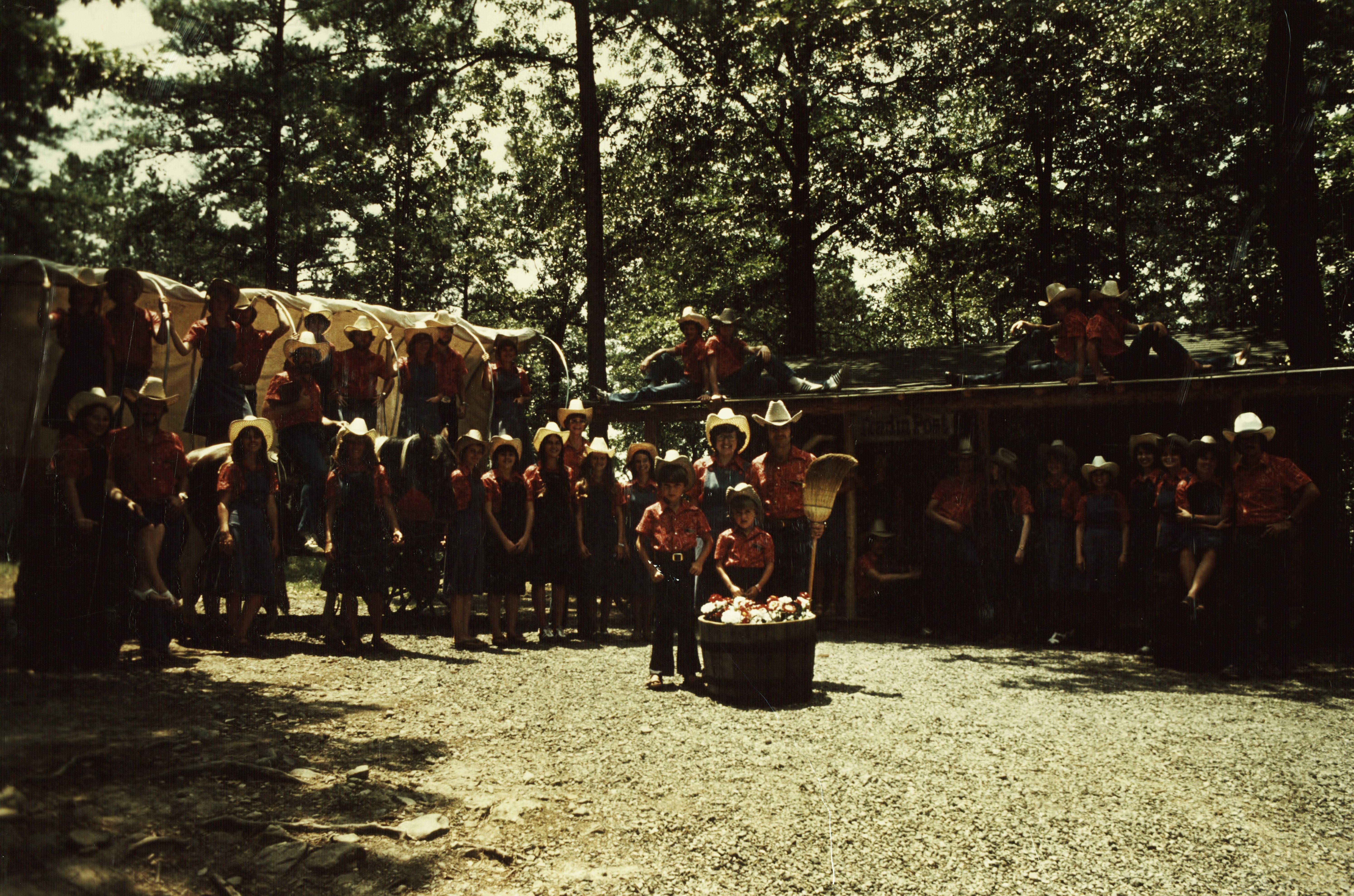 Camp Yorktown Bay staff 1978