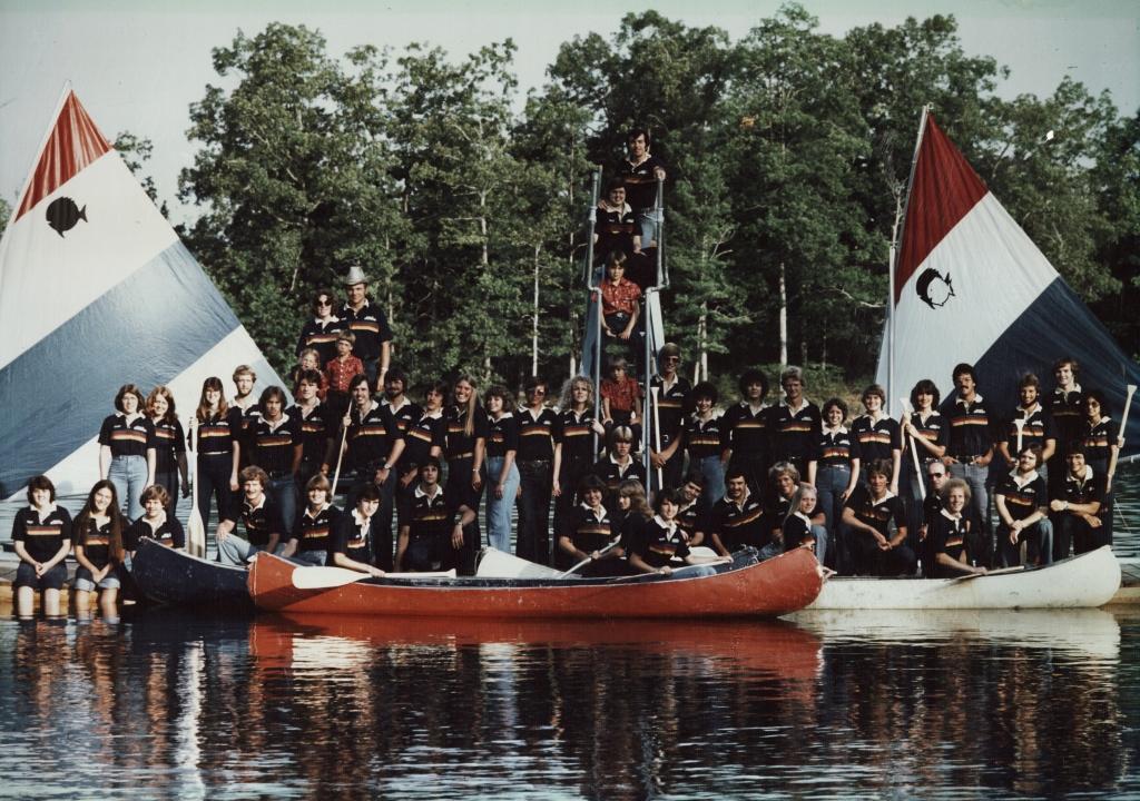 Camp Yorktown Bay staff 1979