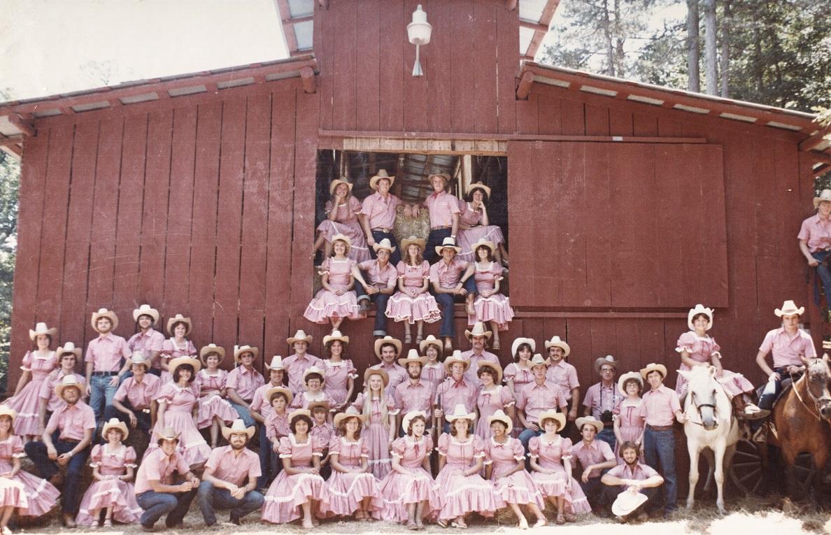 Camp Yorktown Bay staff 1980